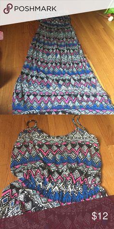 Chris & carol maxi Brand new Chris and carol maxi dress tribal print. Chris & carol Dresses Maxi