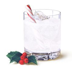 Candy Cane Martini. Also, 20 Low-Calorie Holiday Cocktail Recipes