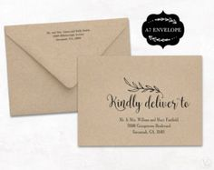 Fabdceaccccfcprintingonenvelopesaddress - A7 envelope printing template