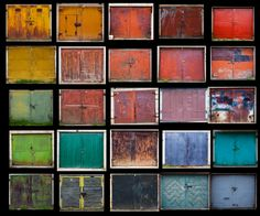Agne Gintalaite photographs colorful doors of Lithuania.