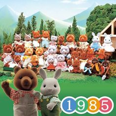The Birth of Sylvanian Families in 1985.  With themes of Nature, Family and Love, nine kind-hearted families appeared. The village headman is the father of Brown Bear. The fun filled village is now regarded by viewers as a commodity.  #cute #fun #girl #friends #toyphotography #toystagram #sylvanianfamilies #sylvanian #calicocritters #シルバニアファミリー #シルバニア #森林家族 #rabbit #bear #mouse #squirrel #raccoon #fox #mole #rabbitfamily #toycommunity #toycollection #dollcollection #toycollector…