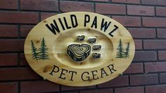 Wooden Cottage Signs and Custom Carved Wood Signs Made to Order / CNC Signmaker Carved Wood Signs, Custom Wood Signs, House Plaques, Wooden Cottage, Making Signs On Wood, Cottage Signs, Pet Gear, Cottage In The Woods, Business Signs