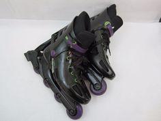 Rollerblade BravoBlade Inline Roller Skates Women Pre Owned Black Sport  #Rollerblade Sports, Hs Sports, Sport