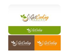 Help Get Cooking Healthy! with a new logo by g'twitz