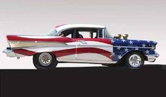 '57 Chevy - All American. A little too flashy for me but I can dig it.