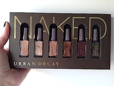 Makeup Review, Swatches: Urban Decay Naked Nail Polish Collection Set