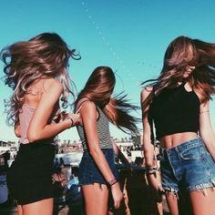 cabello selfie