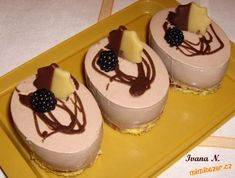 Cheesecake, Pudding, Cupcakes, Sweets, Recipes, Cupcake Cakes, Gummi Candy, Cheesecakes, Custard Pudding