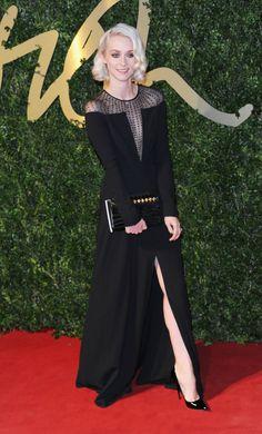 Portia Freeman British Fashion Awards 2013