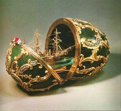 The 1891 Memory of Azov egg