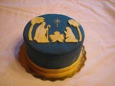 Star of Bethlehem Nativity Cake from D'Cakes by Diana