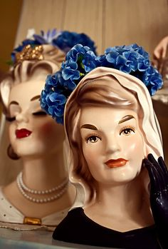 Vintage Lady Head Vase Napcoware | Recent Photos The Commons Getty ..