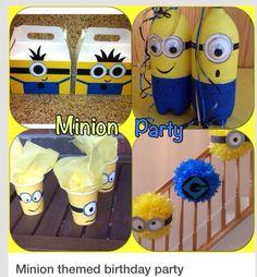 Minion Birthday Party Theme