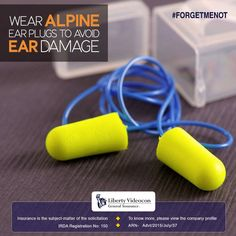 Wearing alpine ear plugs can prevent ear damage while driving. These plugs filter the damaging tones, but let you still hear the sound of engines and sirens #ForgetMeNot