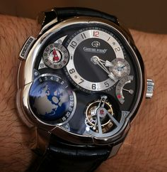 Greubel Forsey GMT Watch In Platinum