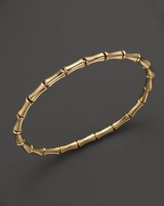 Gucci Yellow Gold Bamboo Bangle in Yellow (No Color) Bracelets Design, Gold Bangles Design, Gold Jewellery Design, Jewelry Bracelets, Silver Bracelets, Bracelet Set, Gold Gold, Accesorios Casual, Modern Jewelry