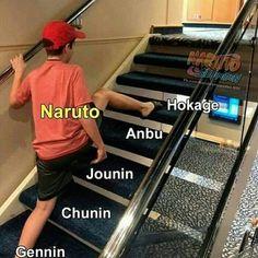 Quite the step up for Naruto, ignoring all the other ranks. Naruto Shippuden Sasuke, Anime Naruto, Wallpaper Naruto Shippuden, Naruto Cute, Naruto Sasuke Sakura, Otaku Anime, Itachi, Sasunaru, Minato Kushina