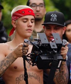 Justin Bieber I'm The One music video BTS
