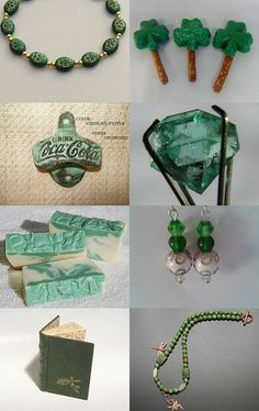 Greens by Judy Aussenhofer on Etsy--Pinned with TreasuryPin.com