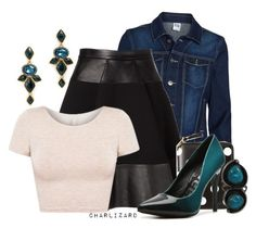 """""""7. One More Night"""" by charlizard ❤ liked on Polyvore"""