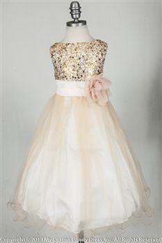 128 Best Champagne Flower Girl Dresses Images Girls Dresses