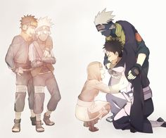 young team 7 and Obito and Kakashi. This hits me in the feels