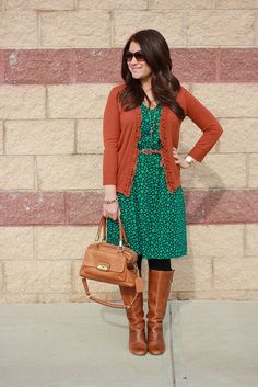 Mix and Match. Another styling of that heart dress that appeals to me.