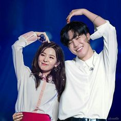 Jimin x Seulgi Jimin Seulgi, Kang Seulgi, Kpop Couples, Cute Couples, K Pop, Korean Best Friends, Autumn Instagram, Perfect Husband, Bts Girl