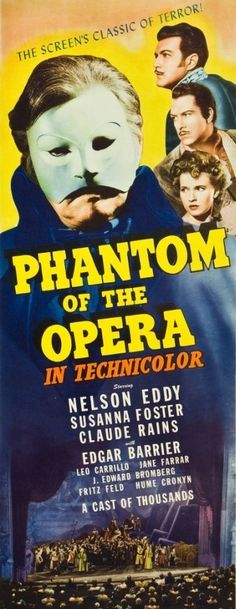 The Phantom of the Opera (1943). I loved the costumes probably even more than those from the 2004 movie ^^