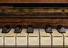 """My sweet piano"" by Jorge Eduardo Degetau on Displate #piano #music #keyboard #displate #photography"