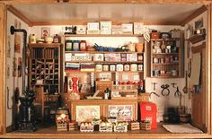 mini general store - so cute!