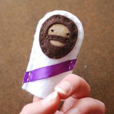 Jesus Felt Finger Puppet