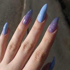 How to choose your fake nails? - My Nails Aycrlic Nails, Glitter Nails, Hair And Nails, Edgy Nails, Nails Polish, Glitter Acrylics, Stiletto Nails, Nail Manicure, Perfect Nails