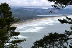 Nehalem Bay from Neahkahnie, via Flickr. #Neahkahnie #Manzanita #Nehalem_Bay
