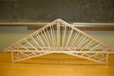 Building a bridge from balsa wood is such a popular educational activity that there are competitive contests for building model bridges. A balsa wood bridge-building project touches on principles of . Bridge Model, Bridge Structure, Arch Model, Building Structure, Woodworking Table Saw, Small Wood Projects, Woodworking Projects For Kids, Woodworking Kits, Paper Bridge