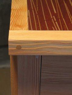 Custom cabinet by Todd Randall. More info here:  http://santacruzconstructionguild.us/todd-randall