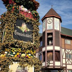 A little chunk of Germany... in Oregon  Complete with glockenspiel beer halls brass bands and you guessed it weiner dog races!  #iloveoregon #oktoberfest #ohheyfall - ExplorersAreWe.com
