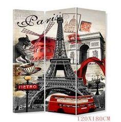 ROOM DIVIDER Paris theme Melissa Hanson for Mollys Room