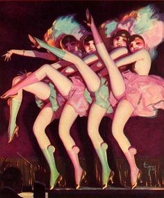 Illustration by Enoch Bolles, 1924.