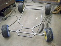 Possible frame for the kids wagon