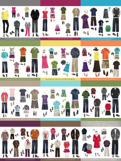 What to Wear Guides - for Family Photo
