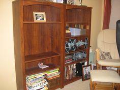 Inspiration For Moms: I Finished It Friday: Painting Laminated Furniture