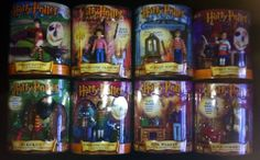 HARRY POTTER MAGICAL MINIS COLLECTION LOT OF 8 By MATTEL (2001)