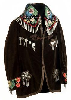 Ojibwe beaded jacket