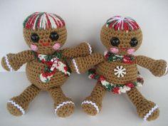Gingerbread Babies Crochet Pattern