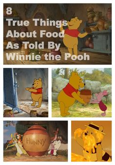 8 True Things About Food ... As Told by Winnie the Pooh