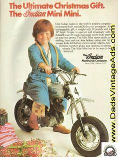 Image detail for -1974 Indian Mini Mini Mini-Bike - the ultimate Christmas gift