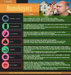 7 Smells Homebuyers Hate