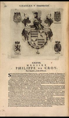 136. 1516, 18th Chapter of the Order, Brussels; Philippe de Croy, 1st Duc d'Aerschot (1496-1549).