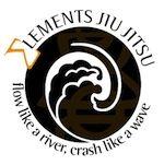 Elements BJJ. Flow like a river, crash like a wave.